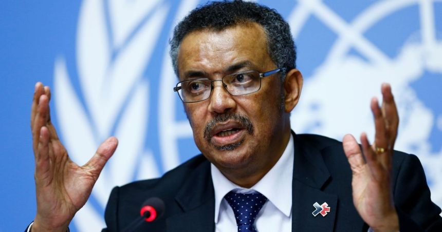 WHO Director-General, Tedros Adhanom Ghebreyesus [Photo: Scrol.in]