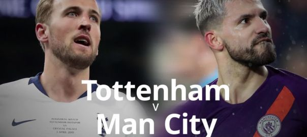 Tottenham v Man. City [Photo: Channel 24]