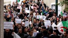 Algeria protests [Photo: Euronews]