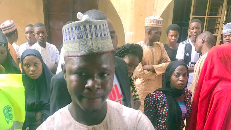 Ibrahim Umar, a graduate of Biology at Usmanu Danfodio University, Sokoto