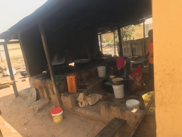 The kitchen at the School for the Deaf, Abuja. Parents said the services at the school are below the required standards. Credit: Azeezat Adedigba