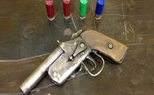 Locally made guns used to illustrate the story. [PHOTO CREDIT: The Firearm Blog]