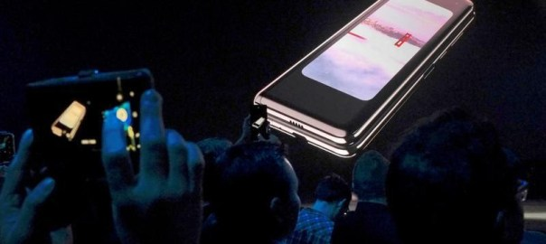 The Samsung Galaxy Fold [Photo: Reuters]