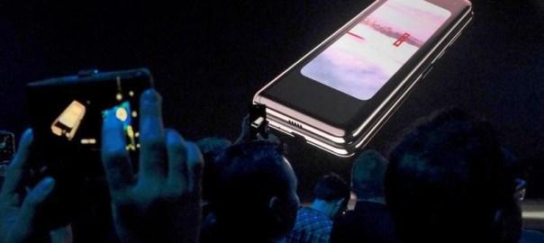 The Samsung Galaxy Fold [Photo: Reuters]