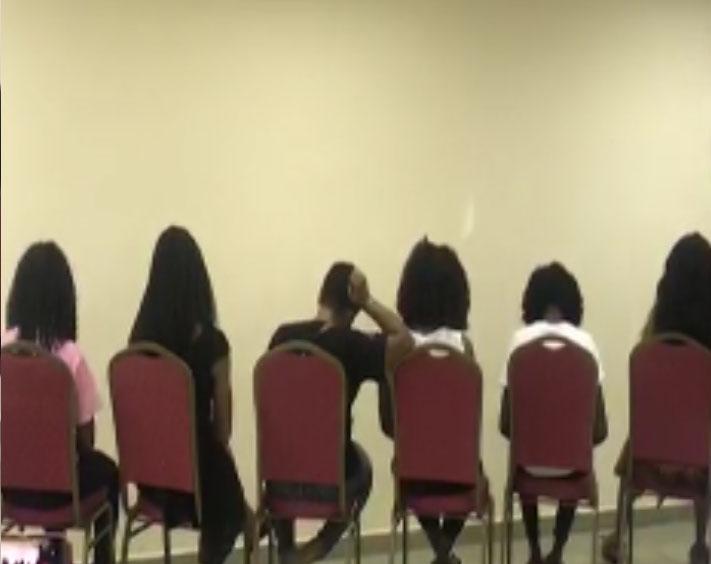 Arrested Abuja girls