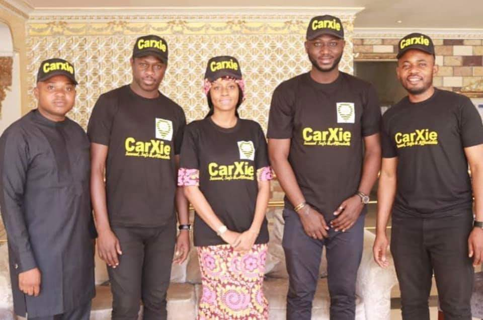 Kannywood top actors, Ali Nuhu, Usman Uzee and Maryam Booth are now CarXie ambassadors.