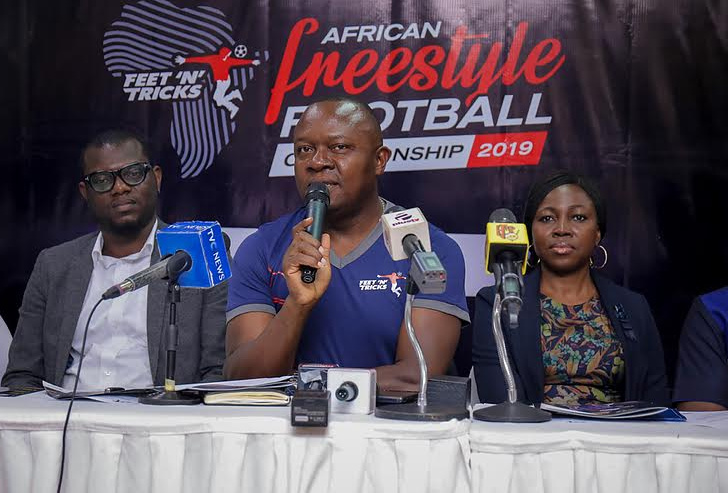 Sports: African Freestyle Football Championship