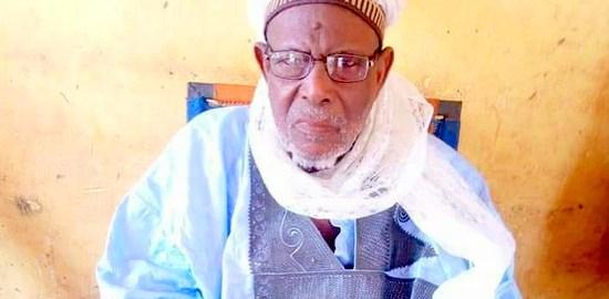Tradition ruler, Aliyu Ibrahim.