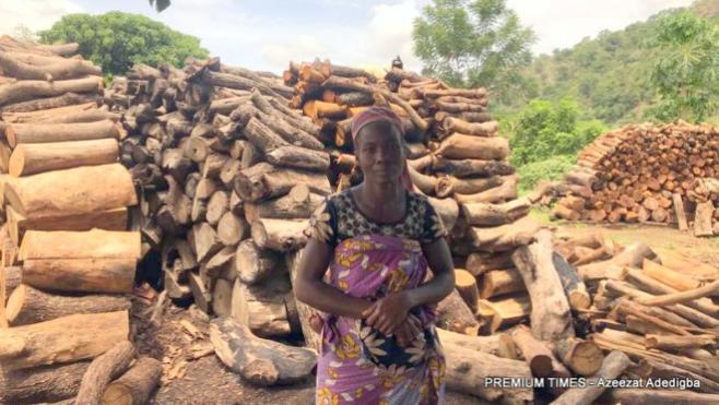 A Parent in Chaji, Aniah Luka.