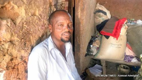 The IDP CHairman in Angwan Hausawa, Umar Muhammed.