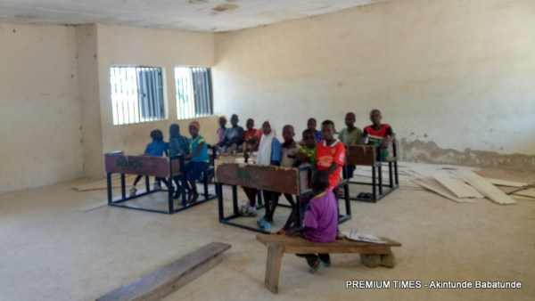 Pupils in the classroom