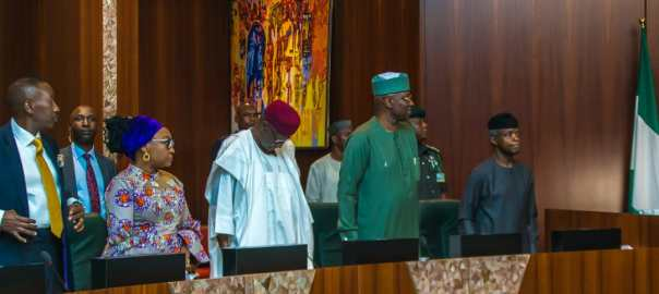 Vice President Yemi Osinbajo presides over FEC Meeting