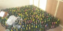 Hundreds of bottles of beer seized by the Hisbah