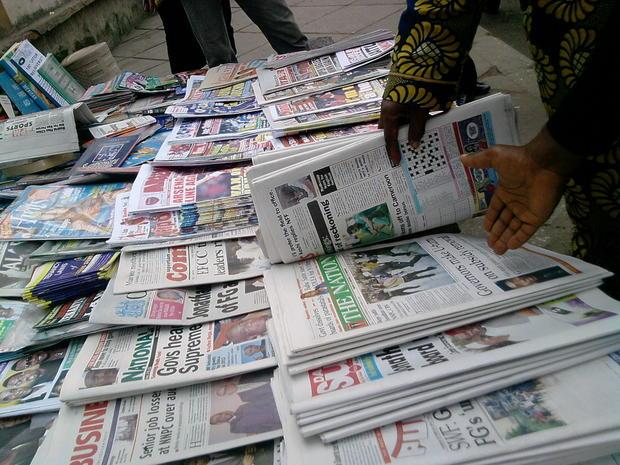 Nigerian-Newspapers[PHOTO CREDIT: Independent Newspapers Nigeria]