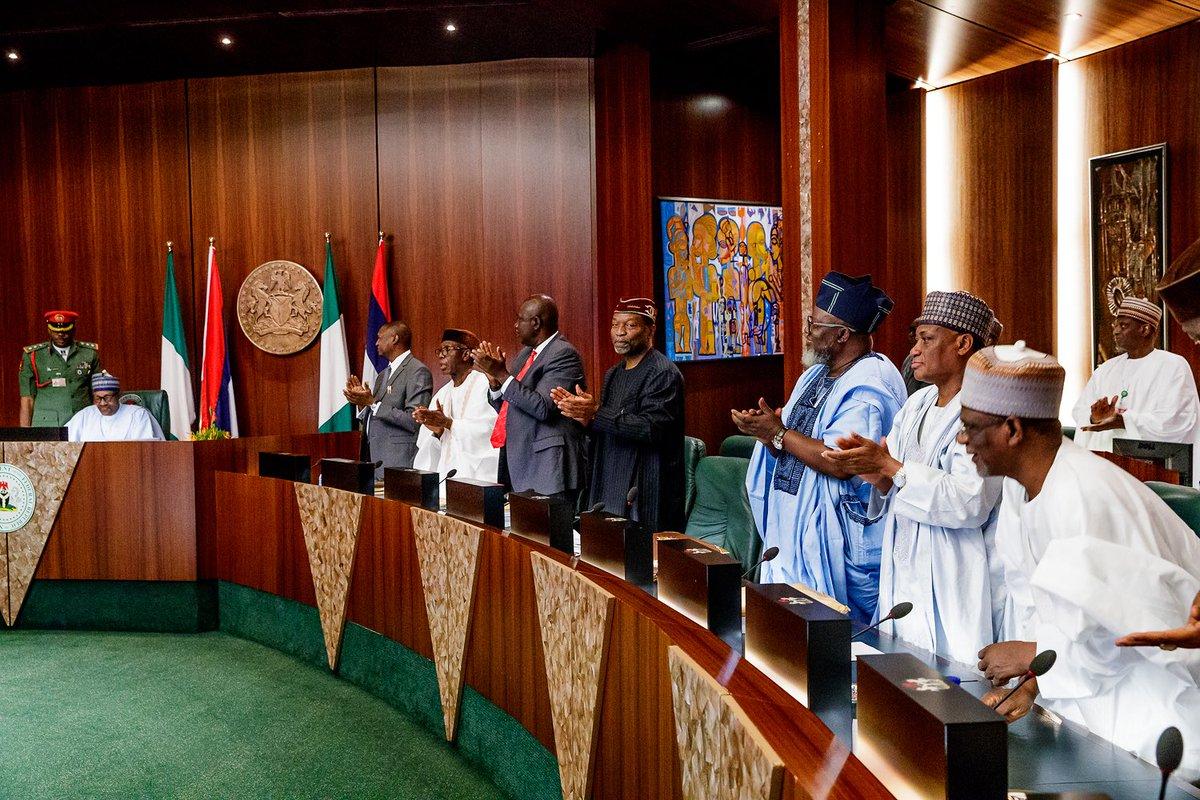 Umrah Banner: Valedictory FEC Session: What Osinbajo, Ministers Said