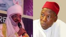 Emir Lamido Sanusi II & Gov. Abdullahi Ganduje