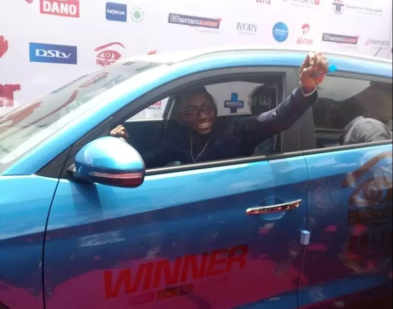 BB Naija 2018 winner, Miracle, received N45 million worth of prizes