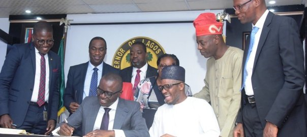 Lagos State Governor, Mr Babajide Sanwo-Olu has signed into law the 2019 Appropriation Bill.