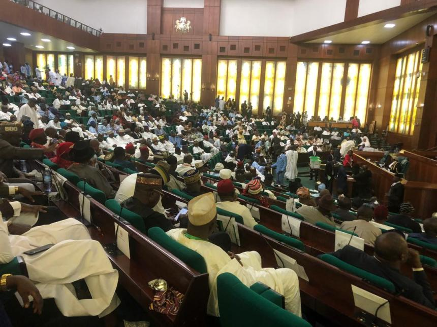 The ongoing house of reps voting to elect new speaker