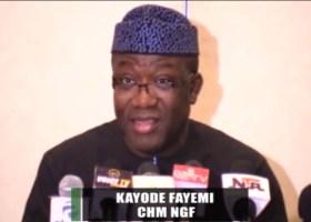 Kayode Fayemi, Ekiti state governor and Chairman, Nigeria Governors Forum (NGF)
