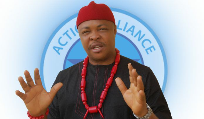 Embattled Action Alliance Chairman, Kenneth Udeze