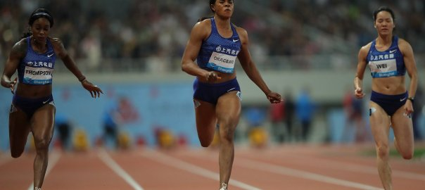 Blessing Okagbare-Ighotegunor in Rabat