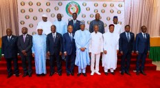 FILE: PRESIDENT BUHARI CHAIR 55 SESSION ECOWAS HEADS OF STATE AND GOV [Photo: Ambuhari]