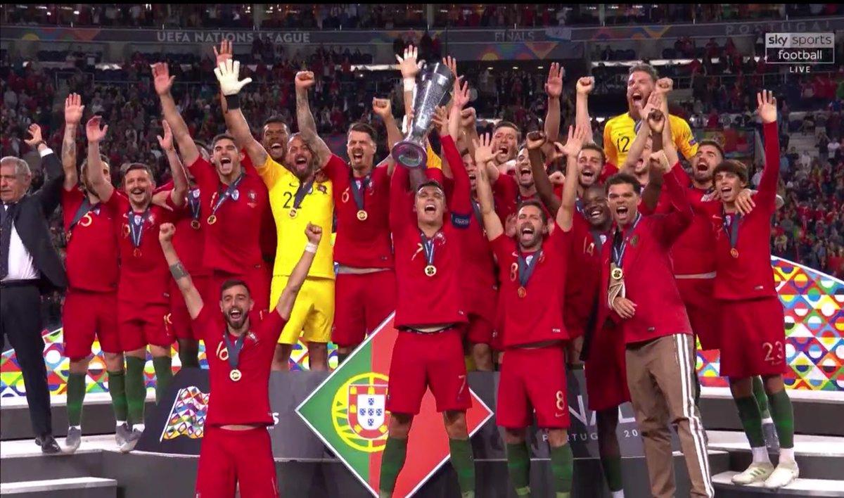 Portugal win inaugural UEFA Nations League