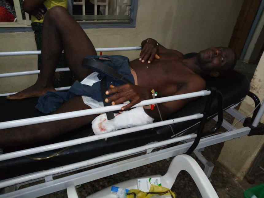 The So-Safe Corps officer that was shot by armed robbers