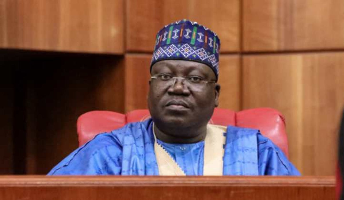 Senate President Ahmed Lawan (Photo Credit: Punch Newspaper)