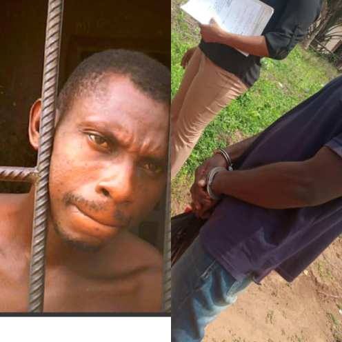 The alleged rapist, Emeka Okwuasa. Photo credit Gwamishu Harrison