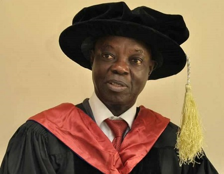 Sulyman Abdulkareem, vice chancellor of the University of Ilorin. [Photo: Nigerian Tribune]
