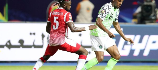 2019 AFCON: Iwobi in motion [Photo: https://twitter.com/CAF_Online]