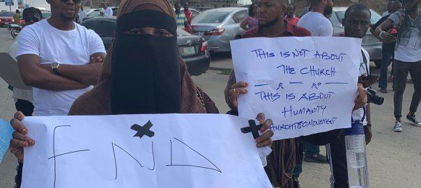 Rape Scandal Protest at COZA