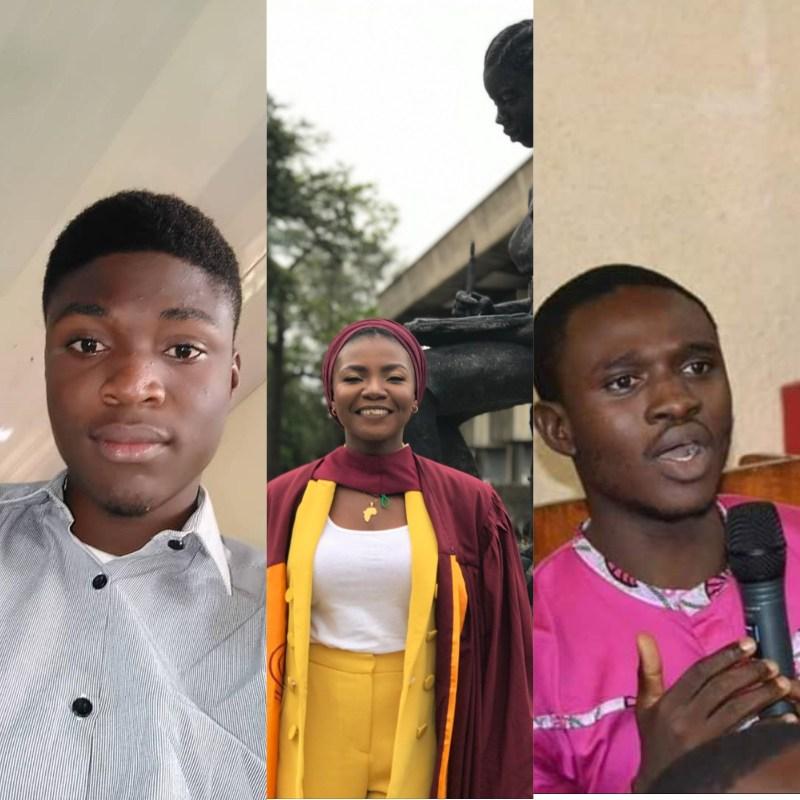 Gabriel Ogunjobi, Daniel Whyte and Shola Lawal
