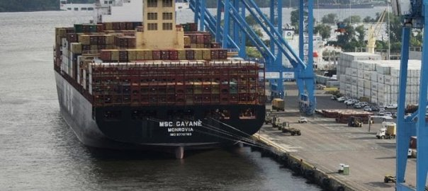 Ship Owned By JP Morgan (Photo Credit: CBS News)