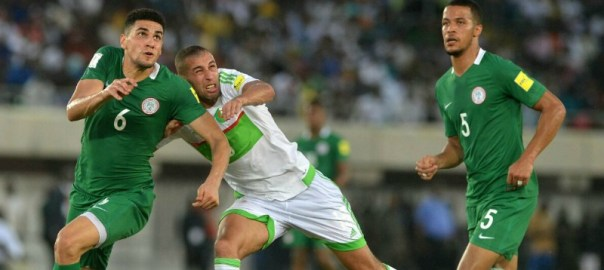 A previous match between Algeria and Super Eagles of Nigeria