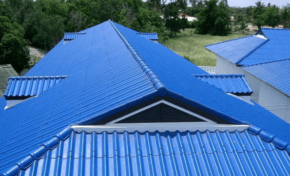 Aluminium Roof used to illustrate the story.