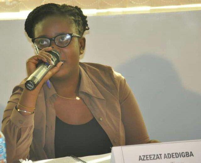 Premium Times reporter, Azeezat Adedigba.