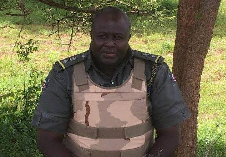 Nigerian cop, CSP Dauda Buba Fika
