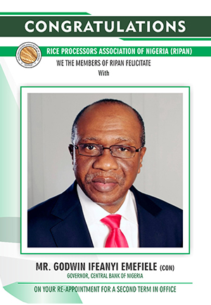 Emefiele advert