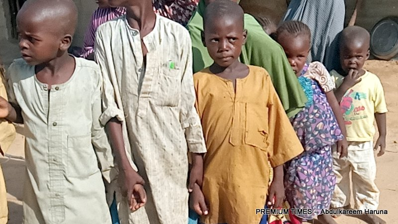 Displaced children in the host community