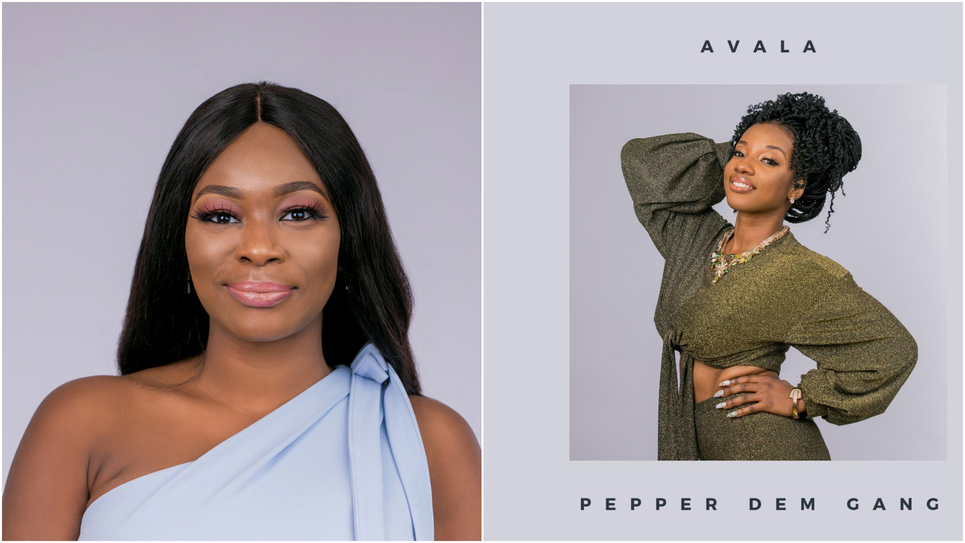 Avala Balogun and Isilomo Braimoh are the first housemates to be evicted from the ongoing Big Brother Naija 'Pepper Dem' edition.