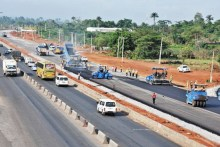 Lagos-Ibadan Expressway under construction as FRSC announces temporary closure.