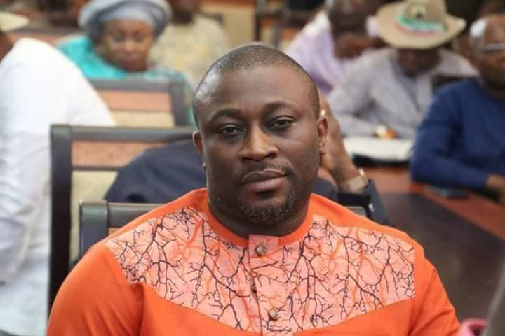 Mr Emmanuel Ukpong-Udo, Nigerian lawmaker representing Ikono-Ini Federal Constituency