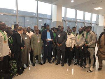 AFCON 2019: Super Eagles arrive Nigeria
