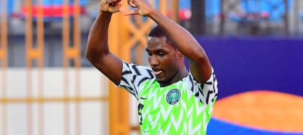 Nigerian forward, Odion Ighalo.