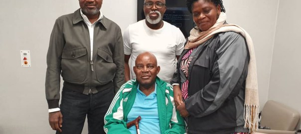 Femi Otedola with Christian Chukwu