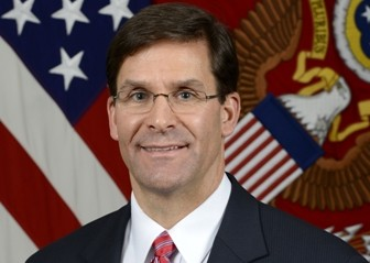 Mark Esper, U.S. Defence Secretary