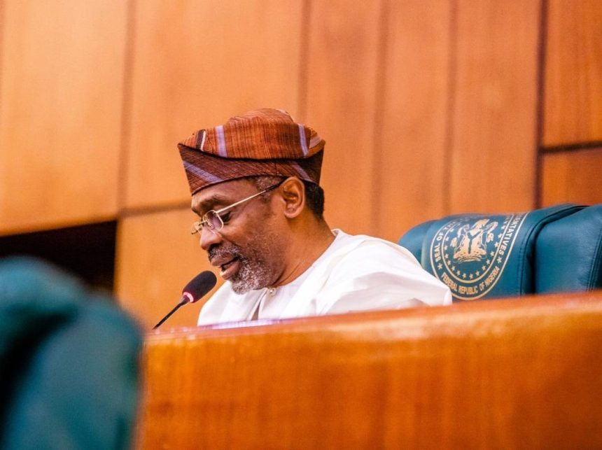Speaker of the House of Representatives, Femi Gbajabiamila. [PHOTO CREDIT: Official Twitter handle of Femi]